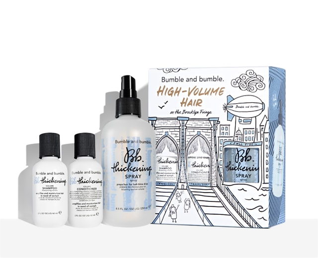 High-Volume Hair at the Brooklyn Fringe Gift Set